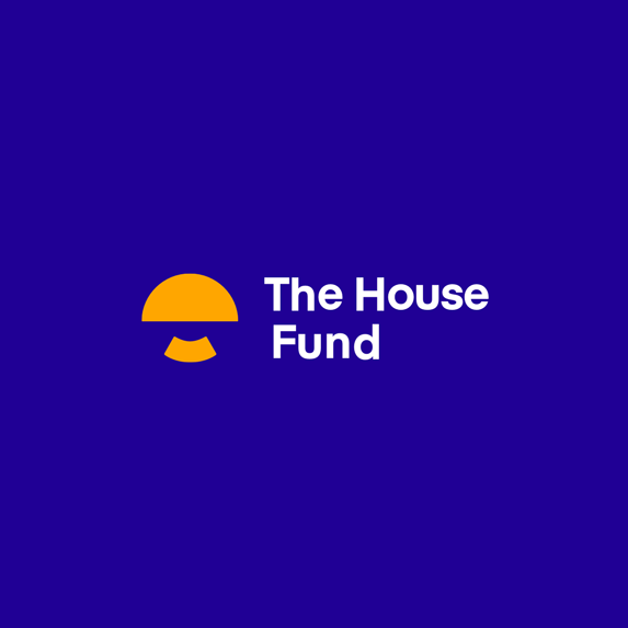 Final version of The House Fund's new logo