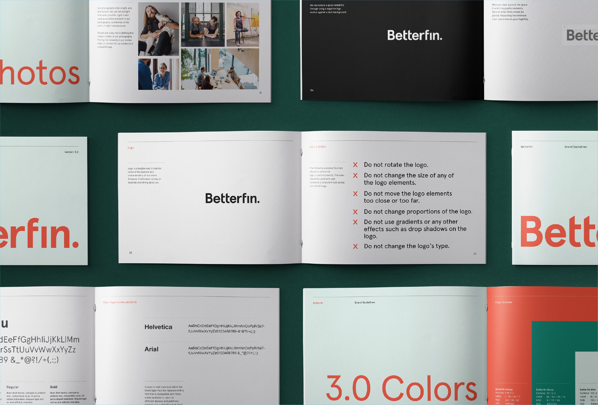 Betterfin - Case - Study - Brand-Guidelines-book