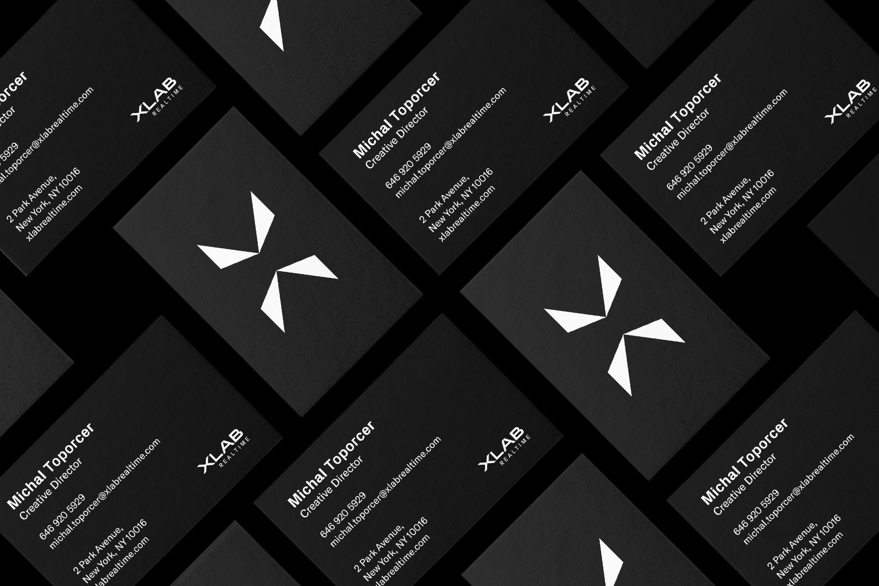 Xlab - Case-study - Business-Cards