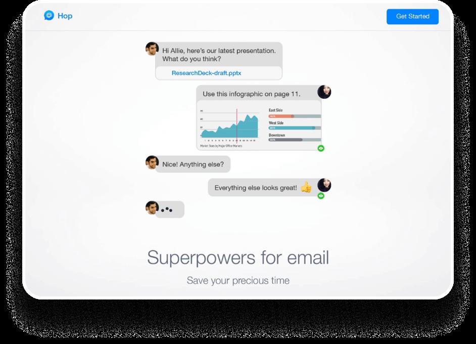 Hop - Case study: Website messaging