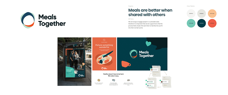 US Digital Response Hackathon - Meals Together - Brand Visual Identity